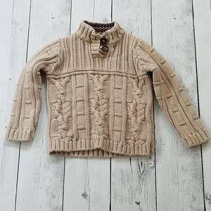 Boys 4T Cable Knit Sweater